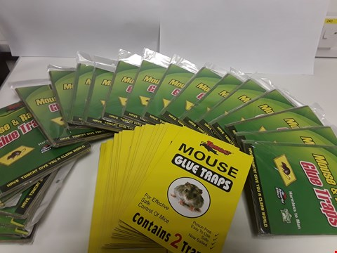 Lot 6533 BOX OF APPROXIMATELY 30 ASSORTED MOUSE GLUE TRAPS