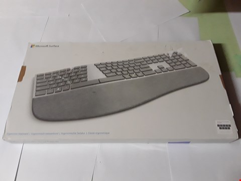 Lot 1767 MICROSOFT SURFACE ERGONOMIC KEYBOARD