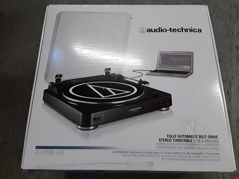 Lot 421 AUDIO-TECHNICA FULLY AUTOMATIC BELT DRIVEN TURNTABLE
