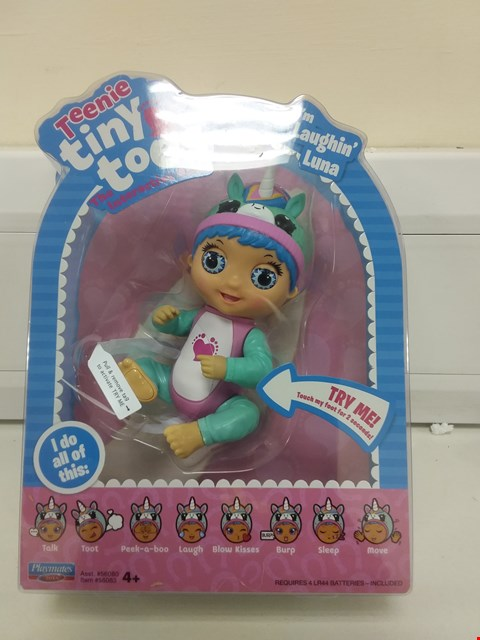 Lot 9036 TINY TOES LAUGHING LUNA DOLL