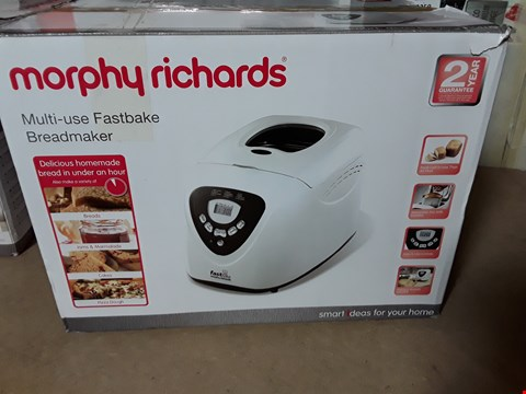 Lot 3257 MORPHY RICHARDS MULTI-USE FASTBAKE BREADMAKER