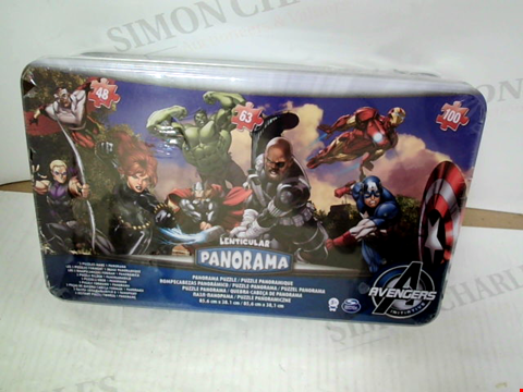 Lot 3081 MARVEL AVENGERS 100 PIECE PANORAMA PUZZLE