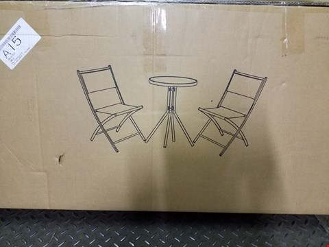 Lot 3323 THE ESSENTIAL 3 PIECE BISTRO SET  RRP £42.99