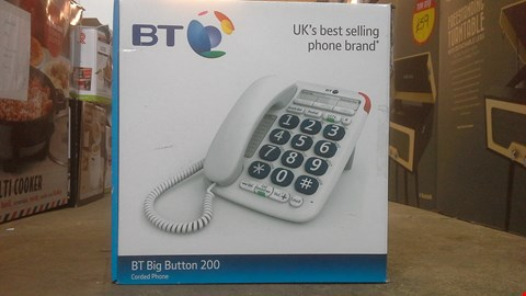 Lot 2149 BT BIG BUTTON 200 CORDED PHONE