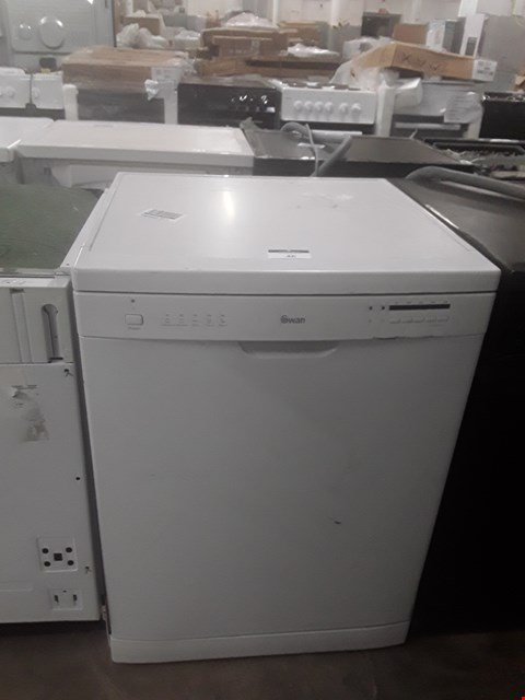 Lot 46 SWAN SDW7040W WHITE 12-PLACE FULL-SIZE DISHWASHER RRP £339