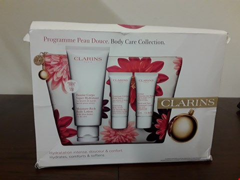 Lot 7004 CLARINS BODY CARE COLLECTION