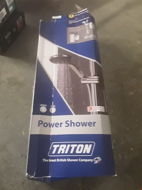 Lot 21 BOXED TRITON POWER SHOWER