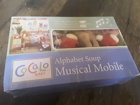 Lot 2013 2 BRAND NEW BOXED COCALO BABY MUSICAL MOBILES RRP £16