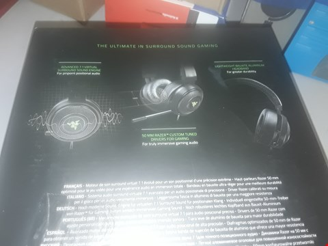 Lot 142 RAZER KRAKEN 7.1 V2 DIGITAL USB GAMING HEADSET
