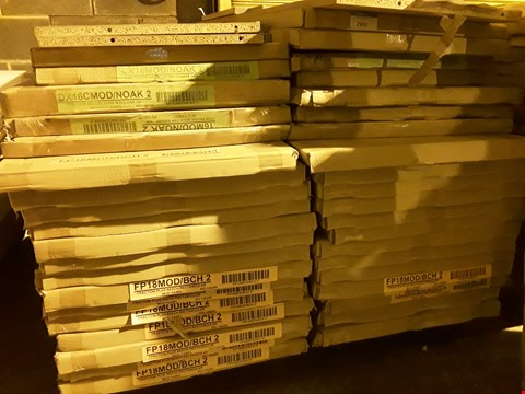 Lot 12106 PALLET OF ASSORTED BOXED OFFICE DESK PANELS