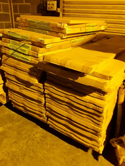 Lot 12107 PALLET OF ASSORTED BOXED OFFICE DESK PANELS