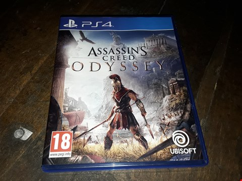 Lot 13132 ASSASSIN'S CREED ODYSSEY FOR PLAYSTATION 4  RRP £59.99