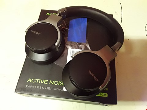 Lot 4160 AUSDOM ACTIVE NOISE CANCELLING WIRELESS HEADPHONED ANC8