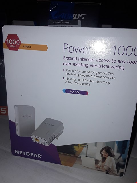 Lot 12413 NETGEAR POWERLINE 1000 NETWORK EXTENDER