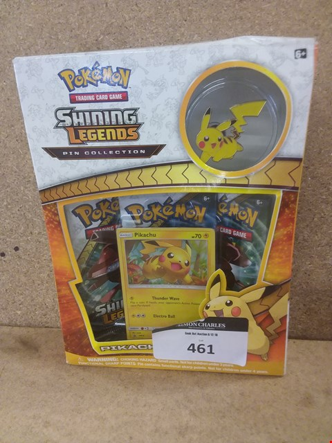 Lot 461 BRAND NEW BOXED POKEMON SHINING LEGENDS PIN COLLECTION