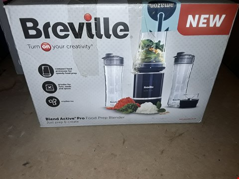 Lot 367 BREVILLE BLEND ACTIVE PRO FOOD PREP PERSONAL BLENDER