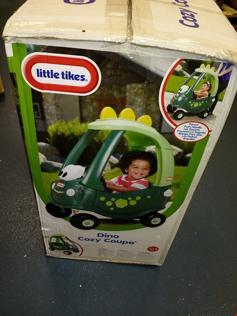Lot 9179 LITTLE TIKES DINO COZY COUPE RRP £79.00