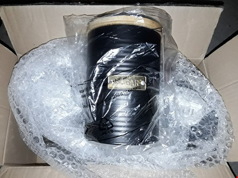 Lot 2519 TYPHOONOTTO BLACK TEA, COFFEE AND SUGAR STORAGE CANISTERS RRP £27.99