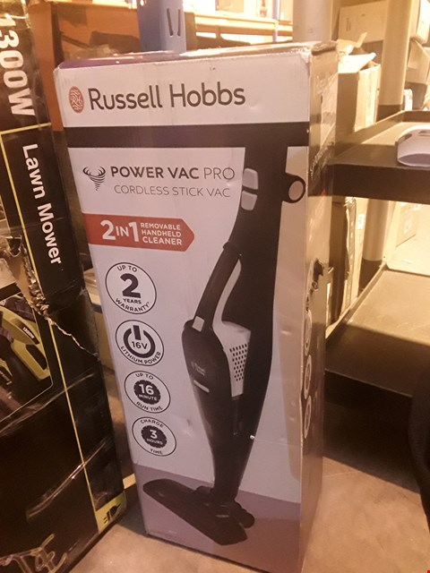 Lot 1148 BOXED RUSSELL HOBBS 2 IN 1 CORDLESS CLEANER