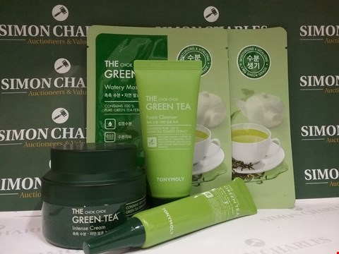 Lot 81 5X ASSORTED THE CHOK CHOK GREEN TEA PRODUCTS INCLUDING EYE CREAM AND FACE MASKS
