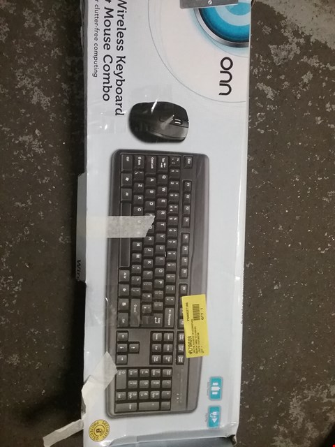Lot 1490 3 × BOXED WIRELESS KEYBOARD AND MOUSE COMBO