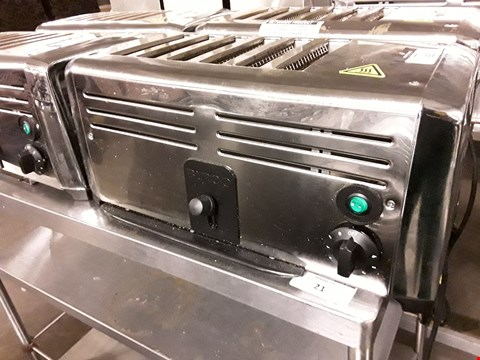 Lot 69 BURCO TSSL16CHR STAINLESS STEEL 6-SLOT COMMERCIAL TOASTER