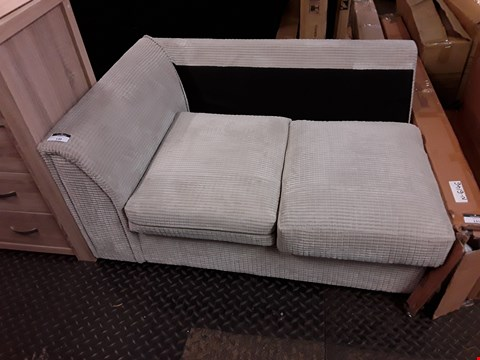 Lot 10030 DESIGNER BEIGE JUMBO CORD SOFA SECTION