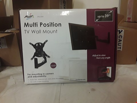 Lot 2075 MULTI POSITION TV WALL MOUNT HOLDS TV'S UP TO 39""