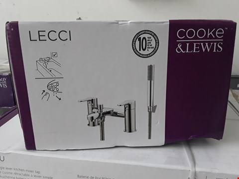 Lot 99 BOXED COOKE & LEWIS LECCI BATH MIXER SHOWER TAP RRP £120