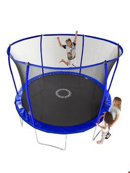Lot 237 SPORTSPOWER 8FT QUAD LOK GALVANISED TRAMPOLINE   RRP £199.99