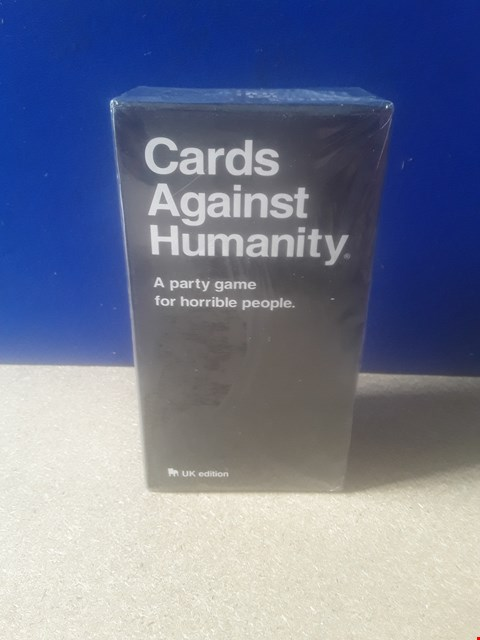 Lot 5008 CELLOPHANE-WRAPPED CARDS AGAINST HUMANITY GAME