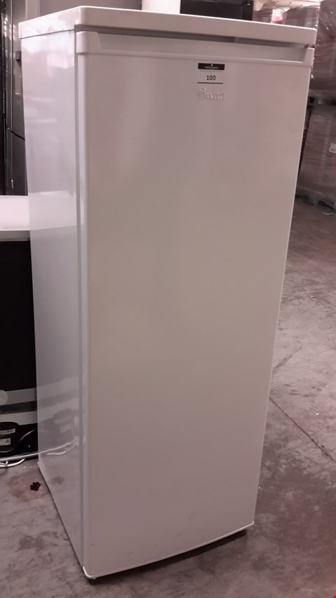 Lot 100 SWAN WHITE TALL LARDER FRIDGE SR8140W RRP £179.99