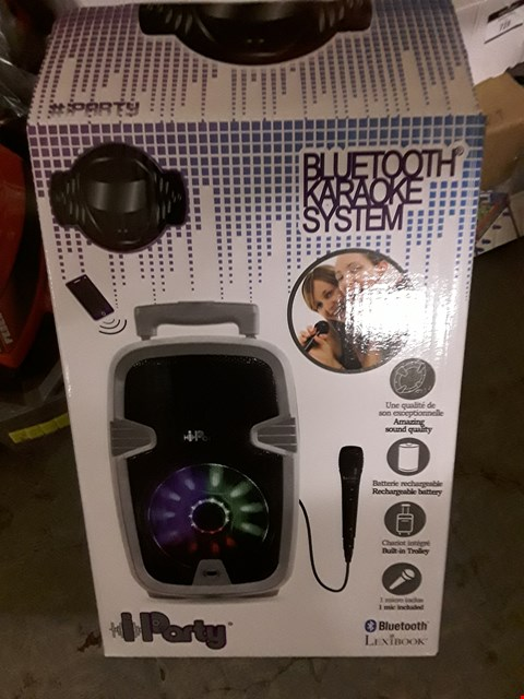 Lot 717 MULTI KARAOKE BLUETOOTH SYSTEM WITH LIGHTS RRP £80