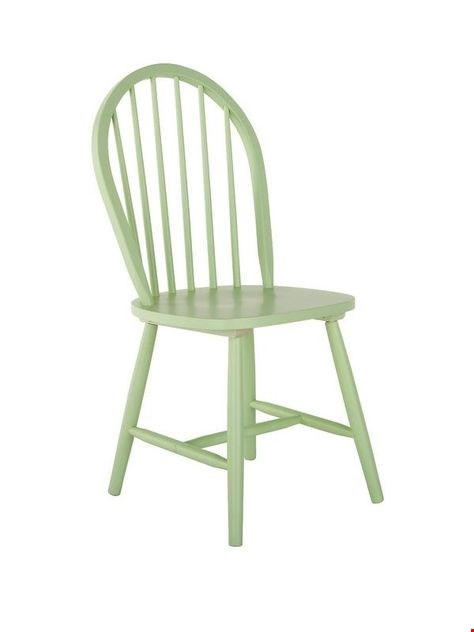 Lot 181 BRAND NEW BOXED GREEN DAISY DINING CHAIR (1 BOX) RRP £49.00