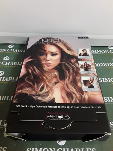 Lot 2225 EASILOCKS CHARLOTTES MIRACLE MAKEOVER  RRP £64.00