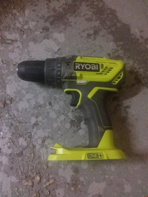 Lot 10062 RYOBI R18PD3-0 ONE+ 18V CORDLESS COMPACT PERCUSSION DRILL (BODY ONLY)