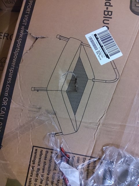 Lot 2421 BOXED SPORTSPOWER MY FIRST JUNIOR TRAMPOLINE  RRP £30.00