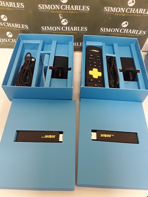 Lot 217 TWO BOXED NOW TV SMART STICKS