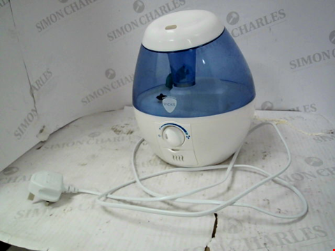 Lot 13063 VICKS VUL520E1 MINI COOL MIST ULTRASONIC HUMIDIFIER