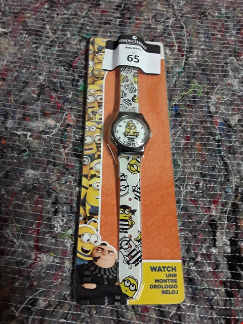 Lot 64 BRAND NEW DESPICBLE ME 3 CHILDREN'S WRISTWATCH