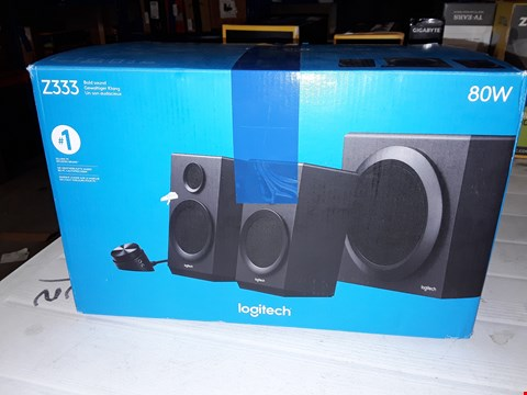 Lot 12445 LOGITECH Z333 MULTIMEDIA SPEAKERS
