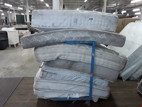 Lot 1063 LOT OF APPROXIMATELY 7 ASSORTED UNBAGGED MATTRESSES