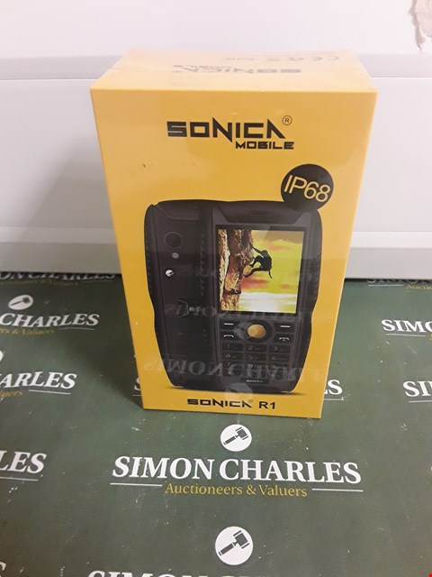 Lot 1755 SONICA R1 1P68 MOBILE PHONE