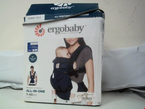 Lot 605 ERGOBABY - OMINI 360 ALL POSITIONS BABY CARRIER