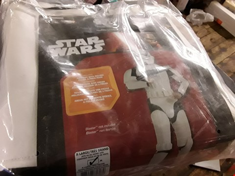 Lot 6290 BRAND NEW STAR WARS DELUXE STORM TROOPER - ADULT COSTUME RRP £64.99