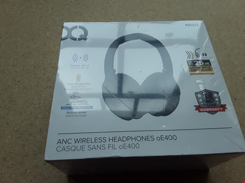 Lot 16 BOXED XQISIT ANC WIRELESS HEADPHONES