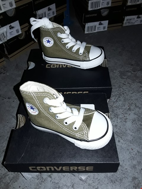 Lot 2056 LOT OF 6 ASSORTED BRAND NEW BOYS CONVERSE TRAINERS ASSORTED SIZES