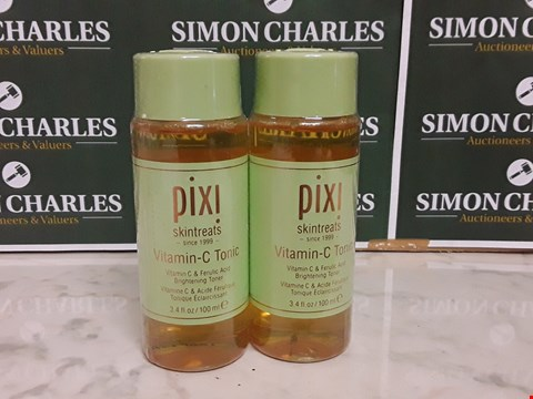 Lot 12087 LOT OF 2 SEALED PIXI STYLE VITAMIN-C TONICS
