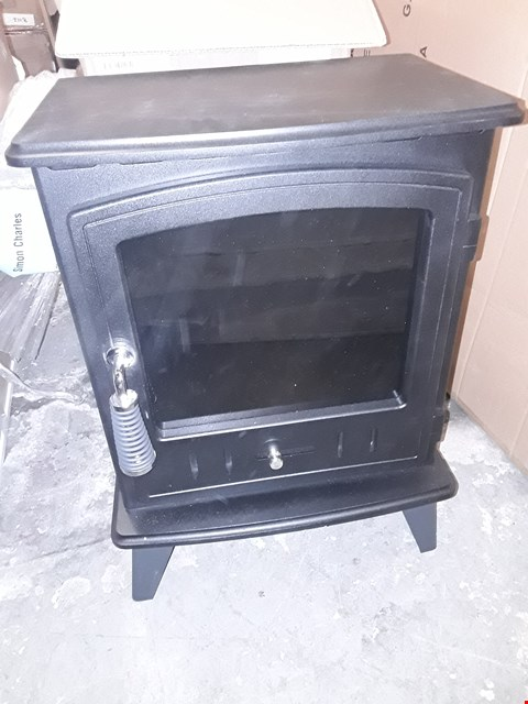 Lot 475 BOXED ADAMS BLACK ELECTRIC STOVE HEATER