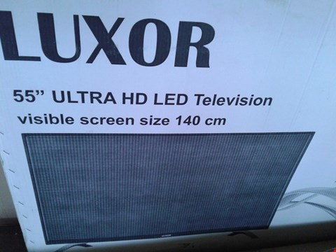"Lot 7788 LUXOR 55"" ULTRA HD LED TELEVISION MODEL LUX0155005/01."